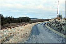 NR7027 : Minor road near Skeroblingarry by Steven Brown