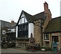 SP4540 : The Globe Room exterior, Olde Reine Deer Inn by Rob Farrow