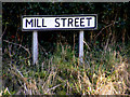 TM4468 : Mill Street sign by Adrian Cable