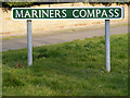 TG5201 : Mariners Compass Sign by Adrian Cable