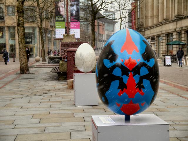 St Ann's Square, Giant Easter Eggs