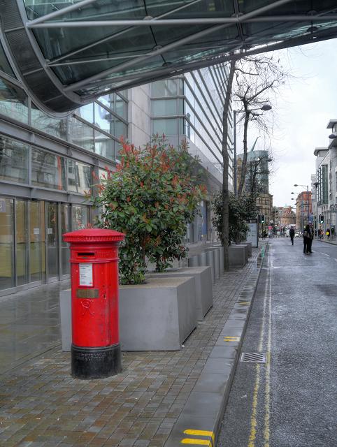 Corporation Street, Victorian Post Box