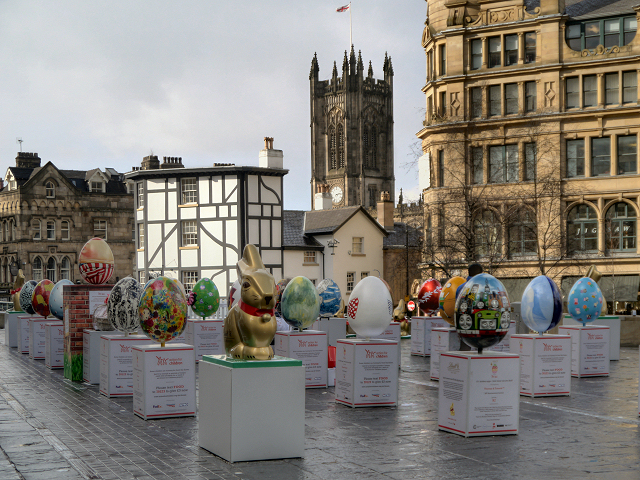 Exchange Square, The 2013 Easter Egg Hunt