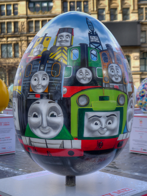 Thomas and Friends by HIT Entertainment Limited - Big Egg Hunt, Exchange Square
