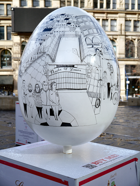 Eggs in the City by Lindsey Spinks - Big Egg Hunt, Exchange Square