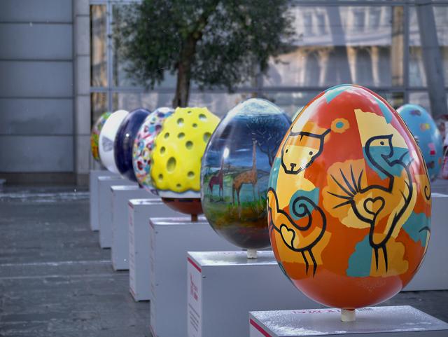 The Big Egg Hunt, Exchange Square