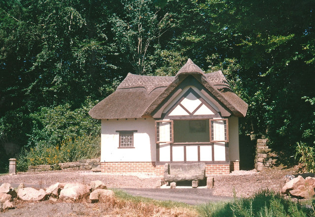 Sham Thatched Cottage Consall Hall