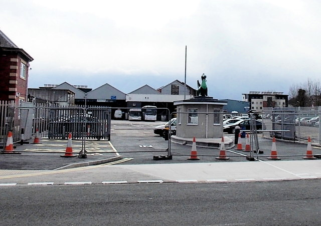 A new look for Newport Bus Depot, Corporation Road, Newport by Jaggery