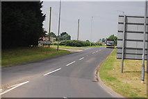 TG1607 : Watton Rd, B1108 by N Chadwick