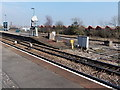 ST1067 : Milepost zero, Barry railway station by Jaggery