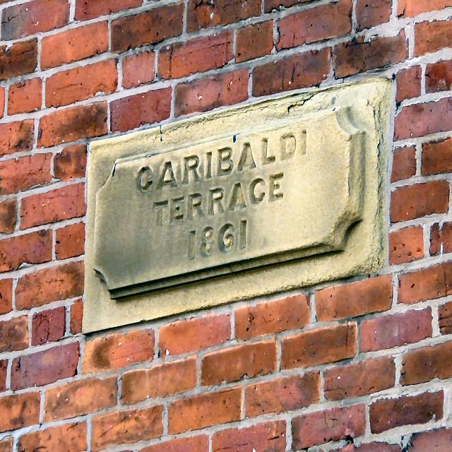 Garibaldi Terrace 1861