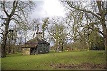 TL6804 : An Estate Cottage Hylands Park by Glyn Baker