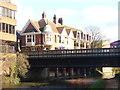 SU9949 : Guildford - River Wey by Colin Smith