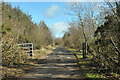 NR7858 : Track to water treatment works near Clachan by Steven Brown