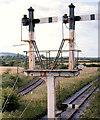 R2834 : Railway signals, Newcastle West (1976-1) by Albert Bridge