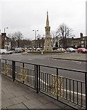 SP4540 : Banbury Cross, Horse Fair, Banbury by Christine Matthews