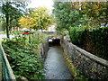 SO2701 : Bridge over Nant Ffrwd-oer, Pontnewynydd by Jaggery