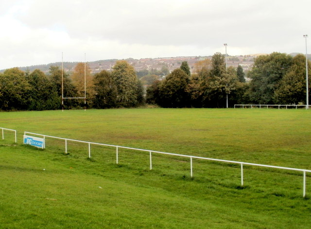 Memorial Ground rugby pitch, Pontypool