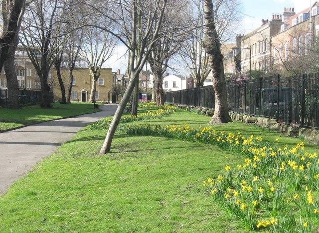 Stepney Green Gardens. East London