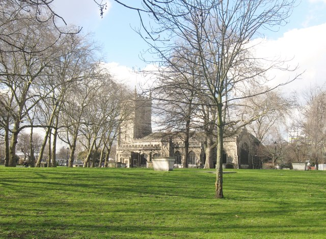 The church of St. Dunstan & All Saints, Stepney, East London