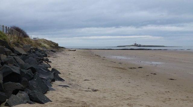 The beach at Low Hauxley