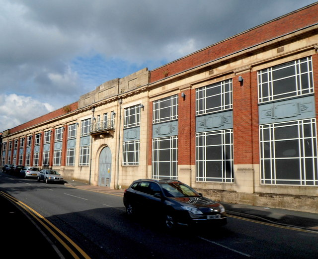 Former Brintons Carpet Factory Kidderminster
