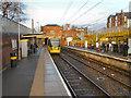 SJ8196 : Trafford Bar Station by David Dixon