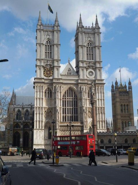 Western Facade, Westminster Abbey