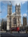 TQ2979 : Western Facade, Westminster Abbey by Robin Sones