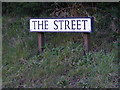 TM5098 : The Street sign by Adrian Cable