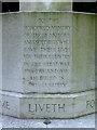 SP3478 : Inscription, First World War memorial, London Road cemetery, CV1 by Robin Stott
