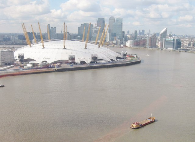 The  Emirates Airline Thames cable car