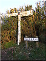 TM5197 : Roadsigns on Hall Lane by Adrian Cable