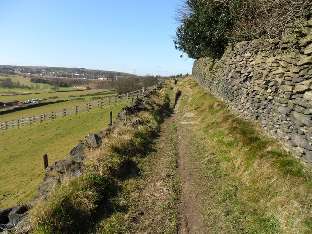 Bridleway, near Outlane