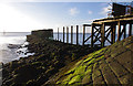 SD3959 : South Jetty, Heysham Harbour by Ian Taylor
