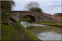 SP7155 : Roving bridge, No. 47, Grand Union Canal by David Martin