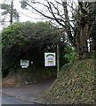 TQ5032 : Crowborough Cattery entrance by nick macneill