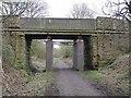 NZ1746 : Bridge over the Lanchester Valley Railway Path by Oliver Dixon