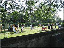 SP3578 : Playground, Stoke Park, Coventry CV3 by Robin Stott