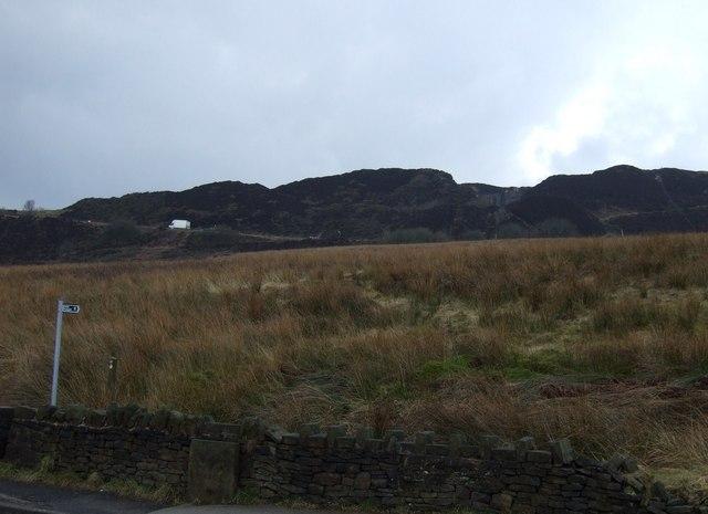 Footpath towards Horrocks Moor