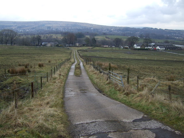 Track to Gale Farm