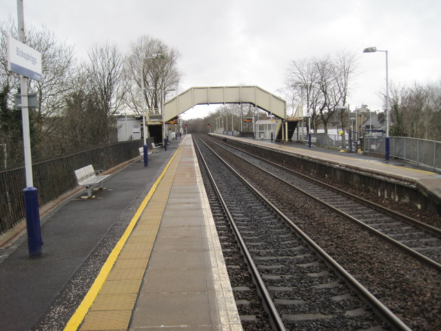 Bishopbriggs railway station by Nigel Thompson
