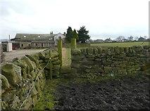 SE0721 : Stile on Elland Footpath 42 at Far Turbury by Humphrey Bolton