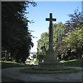 SP0892 : Stone Cross Memorial, Witton Cemetery by Robin Stott
