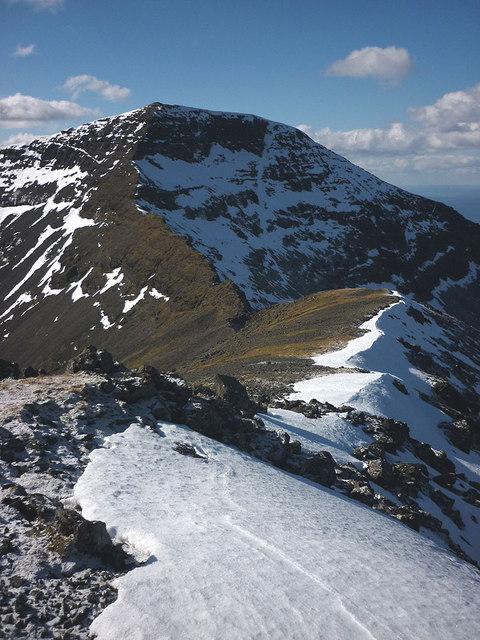 The ridge of A'Chioch