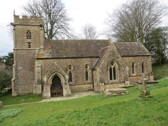 The church of St Peter and St Paul, Maperton