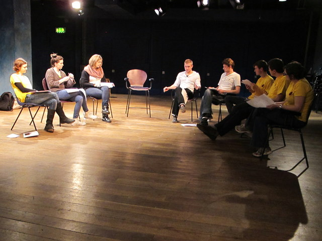 Image result for play rehearsal