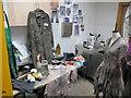 SJ8398 : Costume dyeing room, Royal Exchange Theatre by David Hawgood