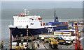"""D4101 : The """"European Mariner"""" at Larne (4) by Albert Bridge"""