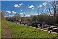 SP4364 : Stockton Locks, Grand Union Canal by Jim Osley